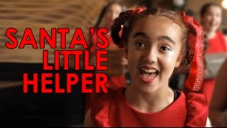 """Santa's Little Helper"" from Spirit Young Performers Company"
