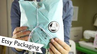 Branding: Etsy Packaging | @laurenfairwx