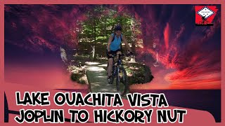 Lake Ouachita Vista Trail - Joplin to Hickory Nut Mountain section.