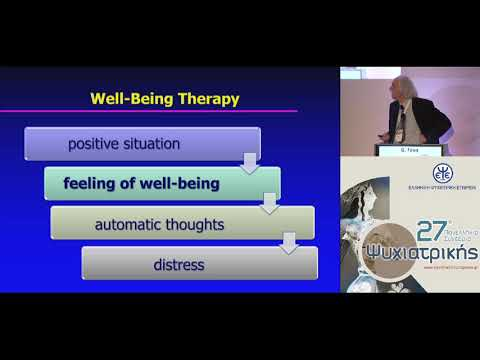Fava G. - The clinical role of well-being therapy