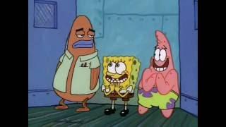 Topless girls on the spongebob