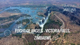 ZIMBABWE - FLIGHT OF ANGELS, VICTORIA FALLS