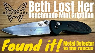 Beth Lost Her Benchmade Knife!