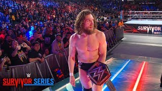 Daniel Bryan leaves Survivor Series with an evil grin: WWE Exclusive, Nov. 18, 2018