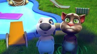 Минимульты Говорящий Том, 31 серия - Битва с воздушным шаром