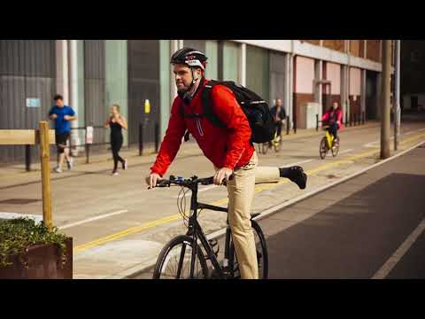 "Work + Play Cycling 15.6"" Laptop Backpack - Black - video 1"