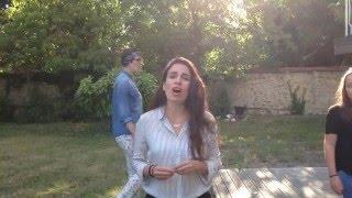 "Yael Naim - ""Coward"" in the garden featuring ten backing vocals !"