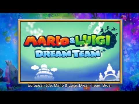 Видео № 1 из игры Mario & Luigi: Dream Team (Б/У) [3DS]