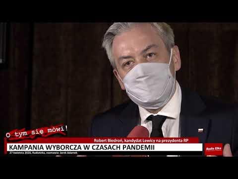 Wideo1: Robert Biedroń drugi raz w Lesznie, na razie jedyny kandydat podczas kampanii prezydenckiej