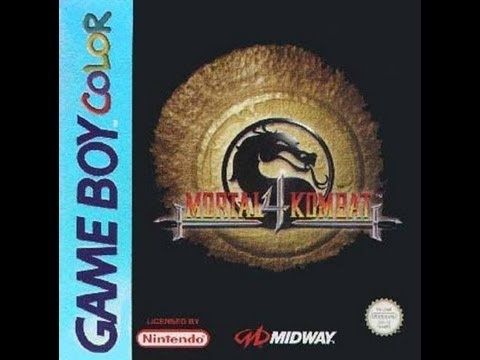 mortal kombat 4 game boy color