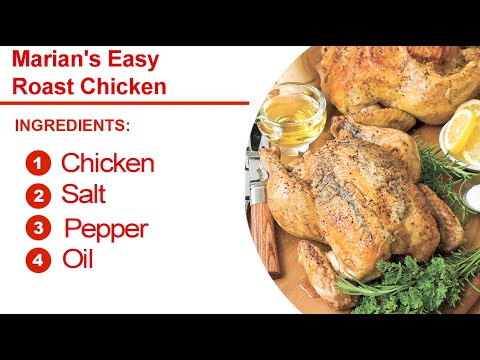 How to Make Marian's Easy Roast Chicken