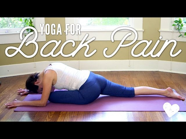 Yoga For Back Pain     Yoga Basics     Yoga With Adriene