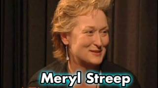 Meryl Streep - about characters