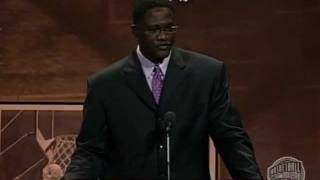 Jacques Dominique Wilkins' Basketball Hall of Fame Enshrinement Speech