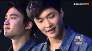 [160409] EXO - Call Me Baby + Talk + LOVE ME RIGHT @ 16th Top Chinese Music Awards