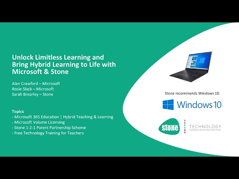 Bring Hybrid Learning to Life with Microsoft & Stone