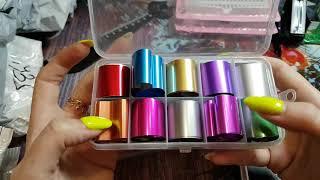 Новая распаковка с ALiExpress/ногтевые товары и не только!