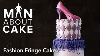 (man About) Quilted Fashion Fringe Cake | Man About Cake With Joshua John Russell