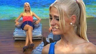 Getränkekasten-Schwimmring mit Anne-Kathrin Kosch