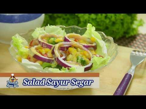 Saya kehilangan berat badan pada salad