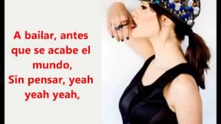 A Bailar - Lali esposito (letra)