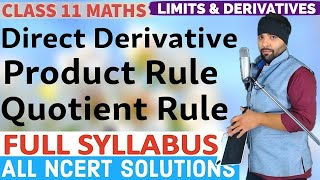 Chapter 13 Limits and Derivatives Class 11 IIT JEE Mains
