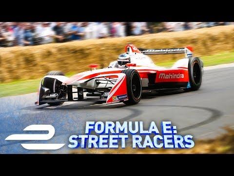 Goodwood Festival Of Speed! Formula E: Street Racers - Full Episode