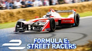 Goodwood Festival Of Speed! Formula E: Street Racers - Full Episode