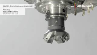 Planfräser M4003: Universeller Einsatz für unterschiedliche Materialien