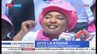 Joto la Kisiasa Viongozi wanawake waunga mkono Rais Uhuru