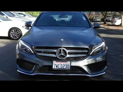 Certified 2017 Mercedes-Benz C-Class San Francisco San Jose, CA #33871