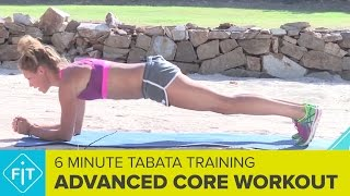 Advanced Tabata Workout For Your Core – 6 Minutes Of Planks by FiT – Global Fitness Network