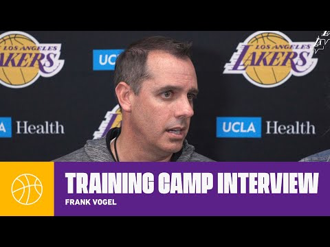 Frank Vogel: 'I credit our guys for gutting it out last night' | Lakers Training Camp 2019