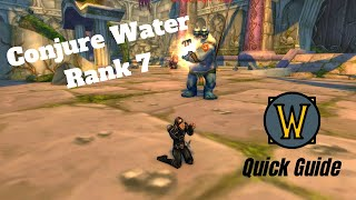 EASY Guide! Mage Water Rank 7 | Classic WoW, Dire Maul