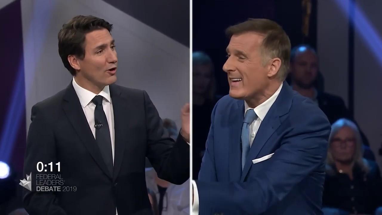 Maxime Bernier debates Justin Trudeau about extremism in Canada