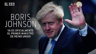Boris Johnson ya es oficialmente el primer ministro de Reino Unido