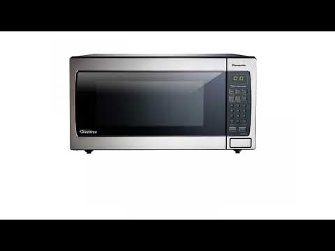 , Panasonic NN-SN966S 2.2 Cu.Ft. 1250W Genius Sensor Countertop/Built-In Microwave Oven with Inverter Technology