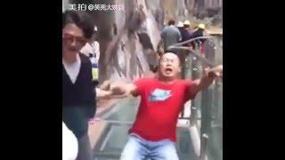 Стеклянный мост в Китае