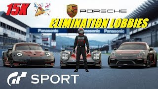 GT Sport 15K Subscriber Celebration - Porsche Cup Elimination Lobbies