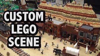 LEGO Wild Wild West Scene | Brickworld Indy 2017