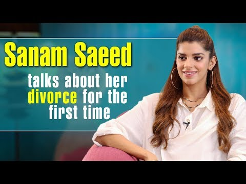 Sanam Saeed talks about her divorce for the first time | Desi Tv