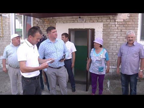 Караидельский район с рабочим визитом посетил министр ЖКХ Республики Башкортостан Борис Беляев