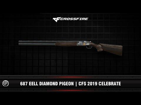 CF : 687 EELL Diamond Pigeon   CFS 2019 Celebrate