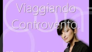 """Arisa - """"Controvento"""" with lyrics"""