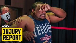Keith Lee's status after fireball attack: NXT Injury Report, Aug. 13, 2020
