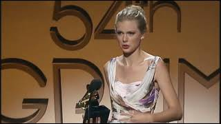 Taylor Swift won 2 Grammys for