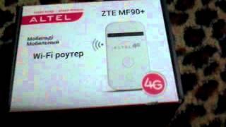 Обзор WI-FI роутер ALTEL 4G
