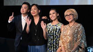 《当时明月在 Back To You》记者会 — Jasmine Suraya Chin陈香郿、Remon林奕廷、Ernest张顺源、Azizah Mahzan