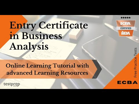 How to prepare for ECBA Entry Certificate in Business Analysis exam?