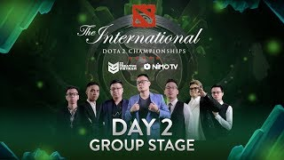 The International 2018 | Day 2 Group Stage | 23 Creative VN